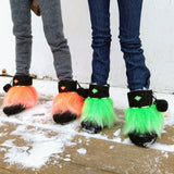 Mini Mukluk Boots - Neons - fits SD 1:3 scale BJD dolls