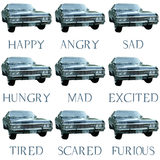 Many Emotions of Baby Pillowcase