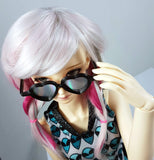 BJD SD Heart Holo Sunglasses