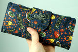 Shiny Firefly Fan illustrated wallet-handmade geekery-Stellar Evolution Designs