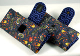 Shiny Firefly Fan illustrated wallet-snap or velcro-handmade geekery-Stellar Evolution Designs
