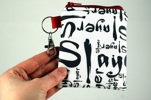 Buffy Slayer coin purse - handmade geekery of Stellar Evolution Designs