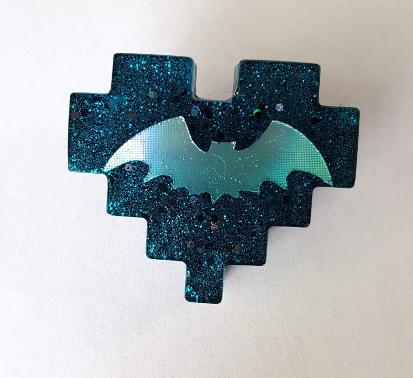 bat pixel pin