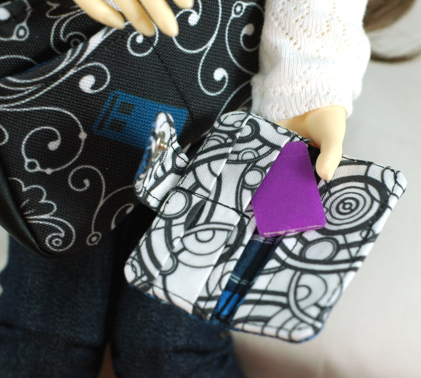 BJD Whovian Wallet (for Doll)