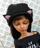 minifee black cat hat