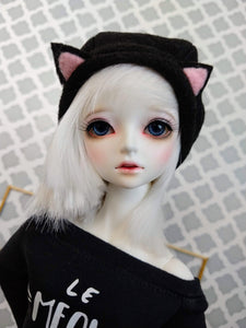 black cat beret hat for msd minifee