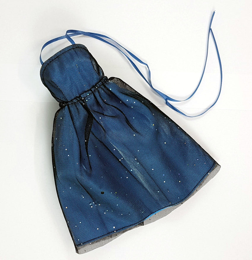 MSD Minifee Sparkly Dress - Blue
