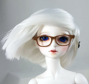 msd or minifee bjd brown glasses