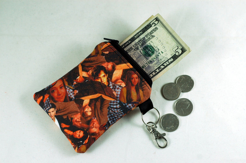 Buffy Scoobie Gang coin purse-handmade geekery gifts