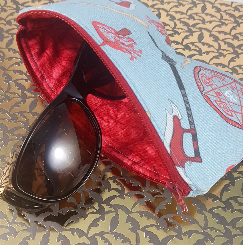 Sunglasses Case - Buffy Arsenal - Blue Steel