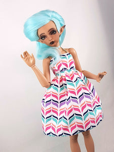 MSD Minifee Dress - Colourful Tails