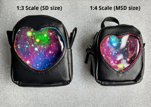 doll ita backpacks handmade by stellar evolution designs in 1:3 scale and 1:4 scale