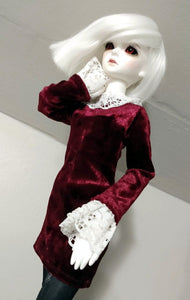 msd victorian velvet dress for ball jointed dolls canada