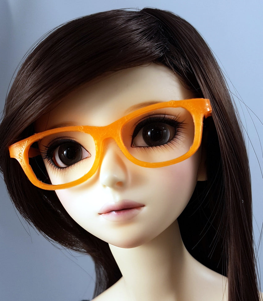 BJD SD Geek Glasses - Orange