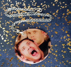 Dean scream pendant necklace for stellar fans of SPN