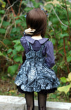 Back of SD lolita style outfit
