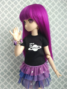 Mini dollfie dream with give me space tshirt available for purchase in canada