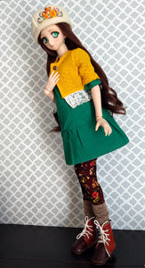 Spring Mori Set - for 1:3 SD BJD - Dress Warm and Fresh