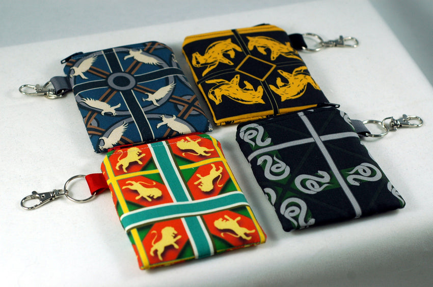 Choose your House-Sneaky Snake Coin Purse