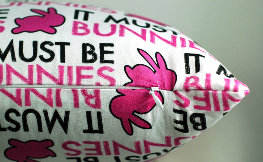 IT MUST BE BUNNIES! Pillowcase