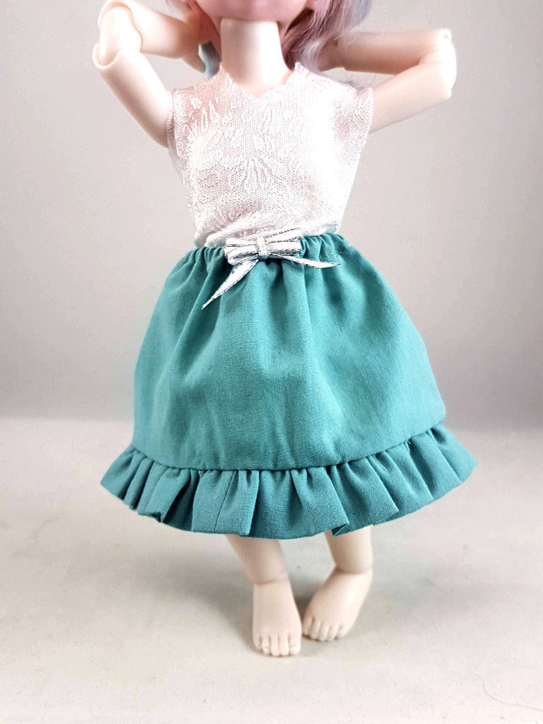 1:6 petticoat skirt for 1/6 scale