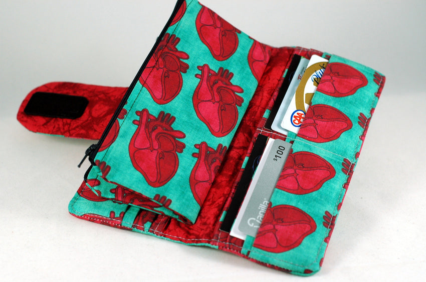 Anatomical Hearts Wallet - Large