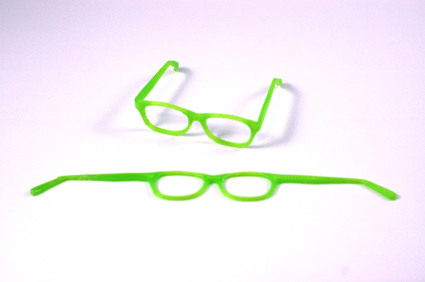 BJD SD Geek Glasses - Green