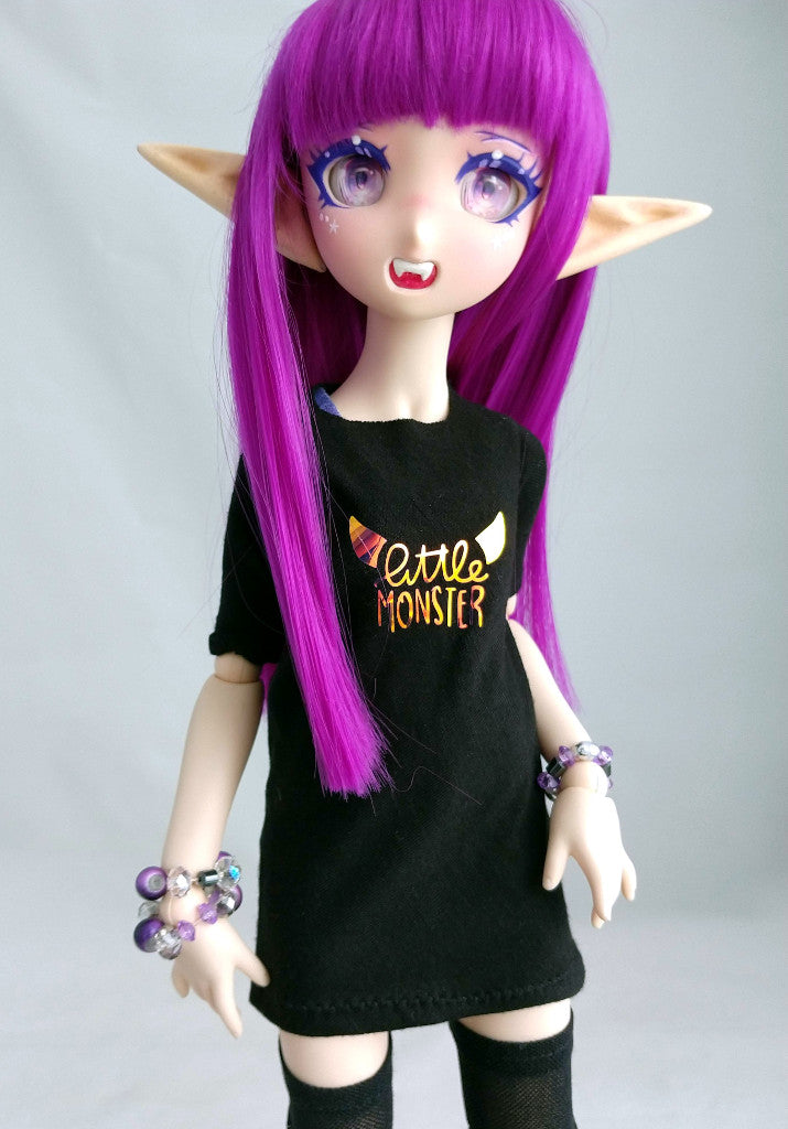 bjd little monster tshirt made in canada