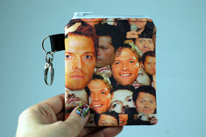 Cas Misha coin purse gift-handmade geekery - Stellar Evolution Designs