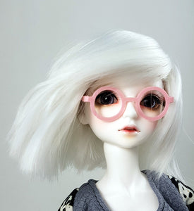 1/4 scale round pink doll glasses by stellar evolution designs