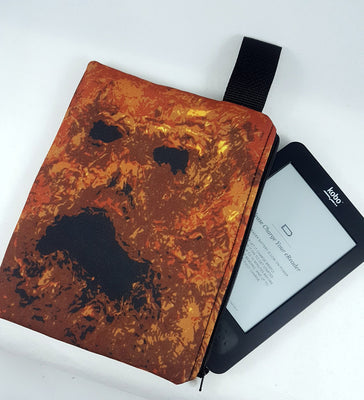 Necronomicon Zipper Pouch, E-reader Case