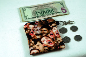 Coin Purse featuring Dean/Jensen Scream Face!