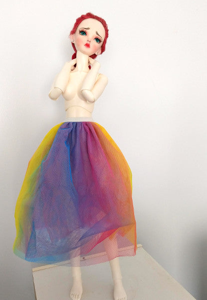 SD Tulle Skirt - Rainbow