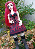 sd bjd corset and skirt set for sale