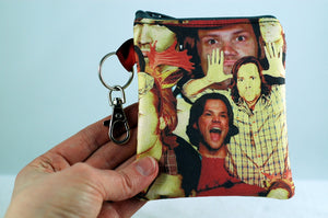 Sam Jared coin purse gift-handmade geekery - Stellar Evolution Designs