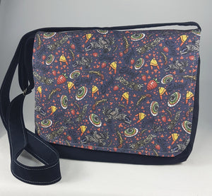 Shiny Verse Firefly fan messenger bag by stellar evolution designs