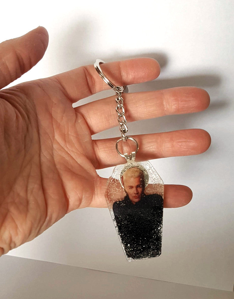 Resin Coffin Keychains - Various Styles