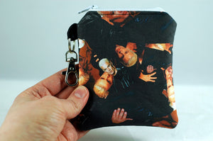Spike coin purse-Buffy the vampire slayer-handmade geekery