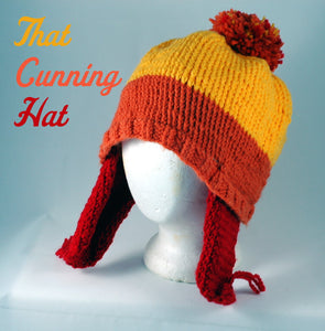 Cunning Jayne Hat-hand knit-Stellar Evolution Designs
