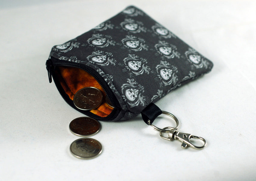 the silence doctor who coin purse-stellar evolution designs-handmade geekery-gifts