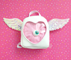 ITA BAG WITH WINGS FOR BJD DOLL TO WEAR MADE IN CANADA