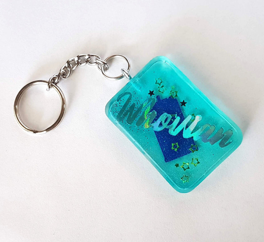 Resin Whovian Keychains - Various Styles