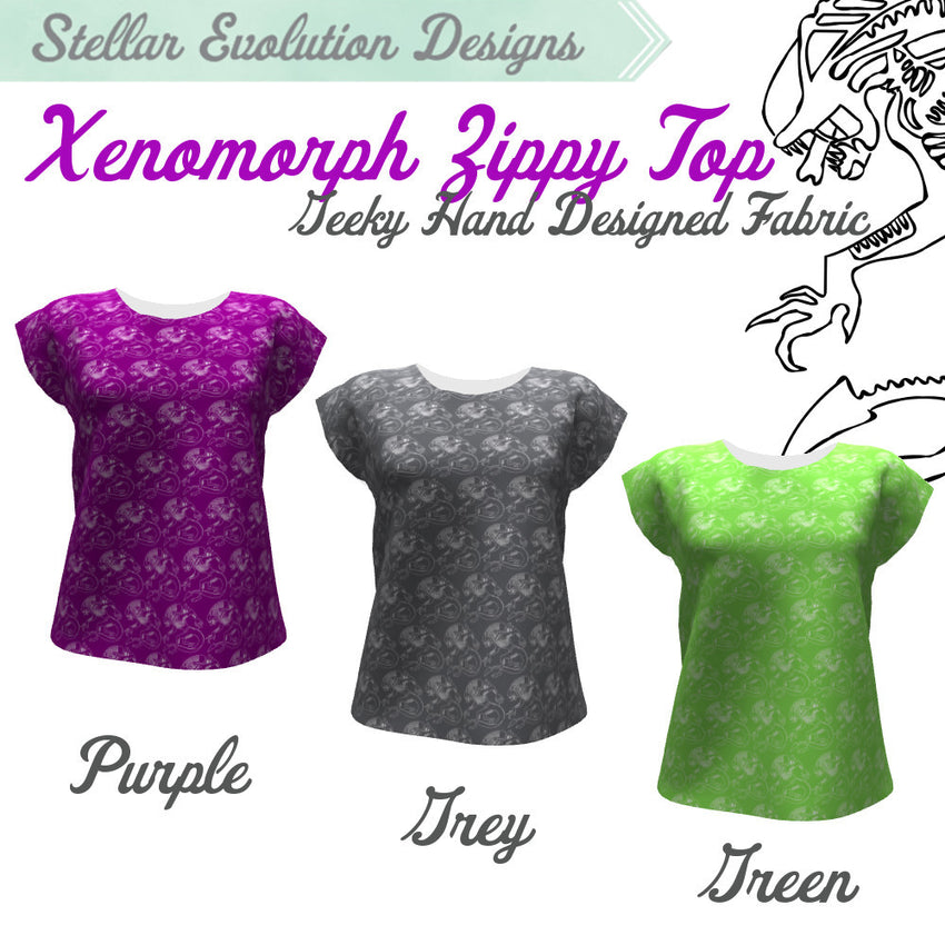 Xenomorph Zippy Top