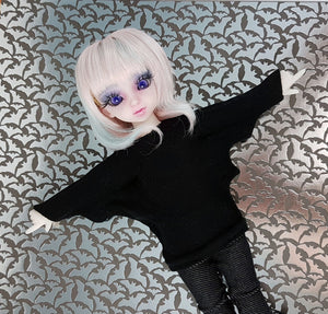 YOSD batwing shirt made in Canada for bjd by stellar evolution designs