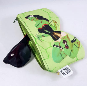 zombie pin-up sunglasses case