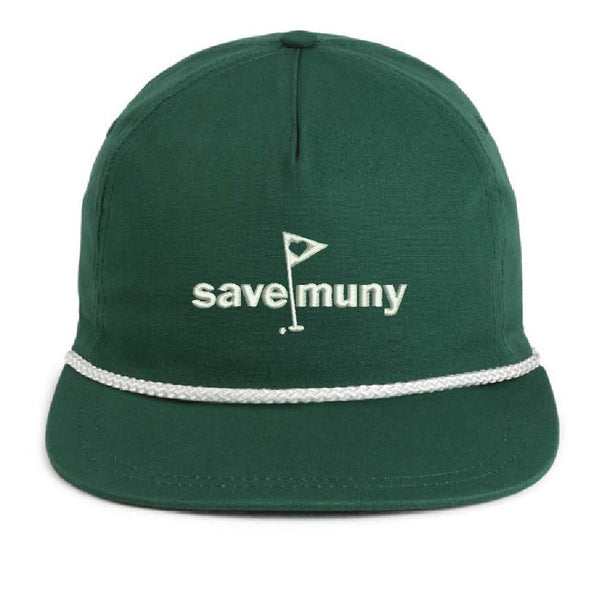 Canvas Save Muny Rope Hat