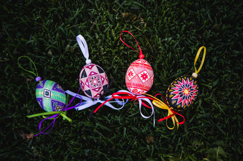 Anastasiya Sved makes wonderful Pysanky
