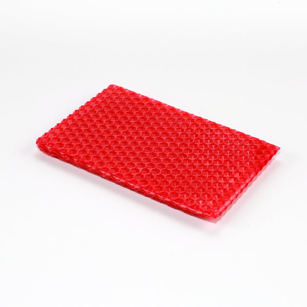 Beeswax Sheets- Red Beeswax Sheets 22g