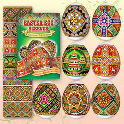 Egg Sleeves - Carpathian Designs (Horses)