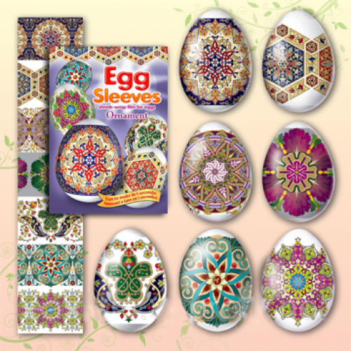 Egg Sleeves - Ornament Designs